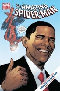 Obama Spider-Man